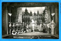 COV1200, Nuit De Chine, Y A Qu' Lausanne, Kursaal De Lausanne Vaud Suisse, Circulée 1924 Sous Enveloppe - Théâtre