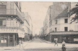 France Carte Postale Paris Rue De La Réunion à La Rue De Bagnolet 1912 - France