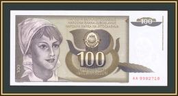 Yugoslavia 100 Dinars 1991 P-108 (108a) UNC - Jugoslavia