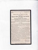 Burgemeester GRAMMONT - GERAARDSBERGEN C.DE L'ARBRE °1837  +OVERBOELARE 1904 (E.DE TURCK) - Images Religieuses