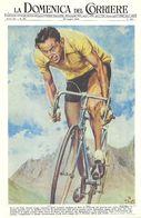 CARTE CYCLISME DOMENICA DEL CORRIERE - Cycling