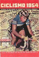 CARTE CYCLISME CYCLISMO 1954 - Cycling