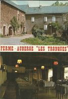 ( LA SALVETAT PEYRALES )( 12 AVEYRON ) FERME AUBERGE . LES TRONQUES - Otros Municipios