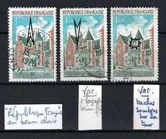 FRANCE 1973: Variété Du Y&T 1759  3 Variétés Distinctes - Curiosidades: 1970-79 Usados
