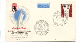 ALLEMAGNE RFA FDC LUFTBRÜCKE BERLIN 1959 - FDC: Covers