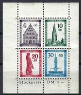 Allemagne - Baden - Blockpreis DM 3, 5 - Sans Charnière - 1949 - Quelques Rousseurs - Bade