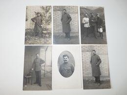 MEUSE BRAUVILLIERS CARTES PHOTOS LOT DE 6 CORRESPONDANCE PRISONNIER DE GUERRE 14/18 - France