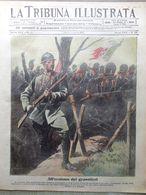 La Tribuna Illustrata 19 Agosto 1917 WW1 Bombe Pola Conferenza Alleati Bagnara - Guerre 1914-18