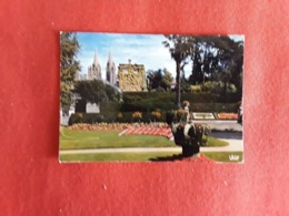 No 224  Manche  50  Coutances  Jardin Public 1987 - Coutances