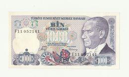 Dettagli Su  Banconota TURKIYE MERKEZ BANKASI - 1000 LIRA - BIN TURK LIRASI - TURCHIA 1970 - Turquie