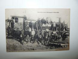 MEUSE GARE DE GONDRECOURT POSTE DE POLICE TRES ANIME LOCOMOTIVE EST SERIE 11 12 MAI 1918 - Gondrecourt Le Chateau
