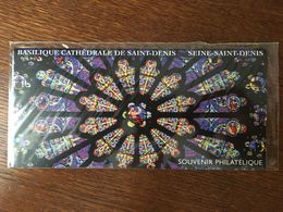 BLOC SOUVENIR N°109 BASILIQUE CATHEDRALE SAINT DENIS 2015 - Blocs Souvenir