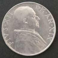 VATICAN - VATICANO - 50 LIRE 1957 - Pie XII - KM 54 - Vatican