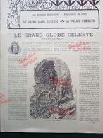 1900 EXPOSITION UNIVERSELLE - LE GRAND GLOBE CÉLESTE - PALAIS LUMINEUX - DIJIBOUTI - SAINT PIERRE ET MIQUELON - TAHITI - Books, Magazines, Comics