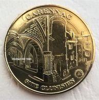 Monnaie De Paris 46.Carennac - Site Clunisien 2010 - Monnaie De Paris