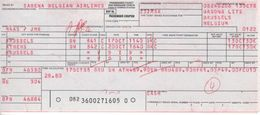 Ticket D'avion Sabena Bruxelles Athens Bruxelles - Tickets