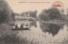 45 - DORDIVES - Les Bords Du Loing Et Le Pont De César - Dordives