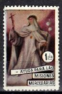 E+ Spanien 1966 Mi Xx Vignette Ayuda Para Las Misiones Mercedarias GH - 1931-Hoy: 2ª República - ... Juan Carlos I