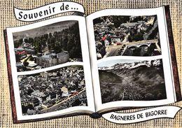 Souvenir De ... BAGNERES-de-BIGORRE - Vues Générales - Livre Ouvert - Bagneres De Bigorre