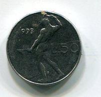 50 Lire (mignon) 1993 - 1946-… : Repubblica