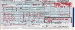 Ticket D'avion SAS Bruxelles Stockholm Bruxelles Luxembourg - Tickets