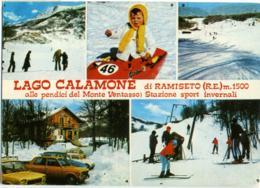RAMISETO  REGGIO EMILIA  Lago Calamone  Monte Ventasso  Sport Invernali  Sci Ski - Reggio Nell'Emilia