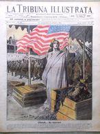 La Tribuna Illustrata 30 Settembre 1917 WW1 Edison Hermada Stati Uniti Balbuzie - Guerre 1914-18