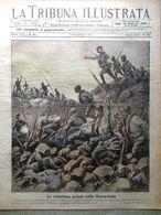La Tribuna Illustrata 7 Ottobre 1917 WW1 Marmolada Foto Di Battisti Croce Rossa - Guerre 1914-18