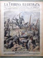 La Tribuna Illustrata 14 Ottobre 1917 WW1 Bainsizza Hindenburg Resa Di Austriaci - Guerre 1914-18