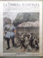 La Tribuna Illustrata 21 Ottobre 1917 WW1 Croce Rossa Stati Uniti Cinematografo - Guerre 1914-18