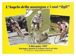 CARTE CYCLISME PANTANI-GAUL-LUPERINI 1997 - Cycling