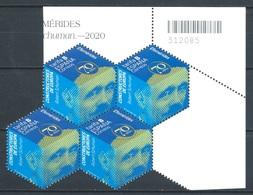 ESPAÑA 2020 ** CONSTRUCTORES DE EUROPA. ROBERT SCHUMANN BL.4 - 1931-Oggi: 2. Rep. - ... Juan Carlos I