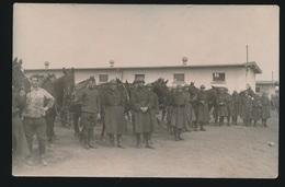 FOTOKAART SOLDATEN MET PAARD - Guerre 1914-18
