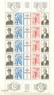 FRANCE DE 1971 NEUFS ** N° 1695 - 1698  - ENFEUILLE - Blocs & Feuillets