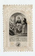 Canivet Image Pieuse Godly Image Dentelle Sainte Germaine Daniel  Paris - Santini