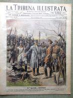 La Tribuna Illustrata 4 Novembre 1917 WW1 Incendio Di Viareggio Marziani Milano - Guerre 1914-18