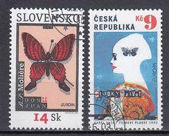 Slowakije. Tsjechie.  Europa Cept 2003  Gestempeld Fine Used - Europa-CEPT