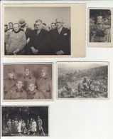 Yugoslav Royal Army Soldiers 5 Photos B200605 - War, Military