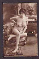 CPA Nu Féminin Académique Artistique Femme Nue érotisme Risque Pin Up Non Circulé - Beauté Féminine D'autrefois < 1920