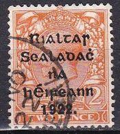Irlanda, 1922 - 2p Overprinted - Nr.26 Usato° - 1922-37 Stato Libero D'Irlanda