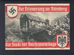 Dt. Reich AK Zur Erinnerung An Nürnberg 1936 - Eventos