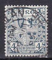 Irlanda, 1922/23 - 4p Coat Of Arms - Nr.71 Usato° - 1922-37 Stato Libero D'Irlanda