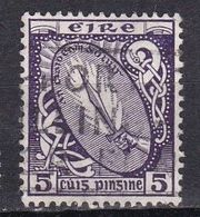 Irlanda, 1922/23 - 5p Sword Of Light - Nr.72 Usato° - 1922-37 Stato Libero D'Irlanda