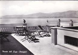 MONTE DEL LAGO - MAGIONE - PERUGIA - TERRAZZA BELVEDERE SUL LAGO TRASIMENO - 1967 - Perugia