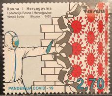 Bosnia And Hercegovina, 2020, COVID-19 Pandemic (MNH) - Bosnia And Herzegovina
