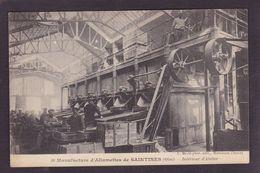 CPA Allumettes Matches Saintines Oise écrite Métier - Industrie