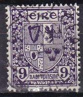 Irlanda, 1922/23 - 9p Coat Of Arms - Nr.74 Usato° - 1922-37 Stato Libero D'Irlanda