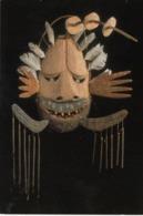 American Indian Mask , Walaunuk (bubbles) , Indian Museum , Washington , D.C. , 1997 - Native Americans