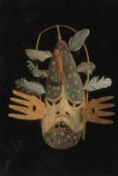American Indian Mask , Calaraq (East Wind) , Indian Museum , Washington , D.C. , 1997 - Native Americans