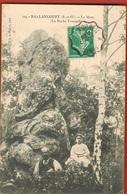 91-BALLANCOURT  _Le Mont - La Roche Foucault -animée - Circulée 1910  Scans Recto Verso - Ballancourt Sur Essonne